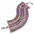 Click Here for More information or to Buy online Pink & Green Swarovski Crystal Bracelet