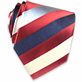 Click Here for More information or to Buy online Regimental Woven Silk Tie