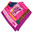 Click Here for More information or to Buy online Multi-color Fantasy Design Printed Silk Square Scarf