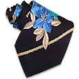 Click Here for More information or to Buy online Fashion Flower Silk Tie