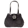 Click Here for More information or to Buy online Vintage Medallion Faux Suede & Leather Bucket Bag