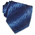 Click Here for More information or to Buy online Peace Symbol Woven Silk Tie