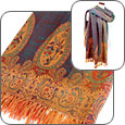 Click Here for More information or to Buy online Oriental Paisley Wool Shawl