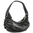 Click Here for More information or to Buy online Black Soft Leather Hobo Bag