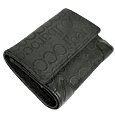 Click Here for More information or to Buy online Black Signature Leather Trim Wallet