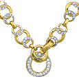 Click Here for More information or to Buy online Romance - 18K Gold and Diamonds Necklace