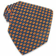 Click Here for More information or to Buy online Orange Flowers Woven Silk Tie