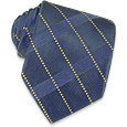 Click Here for More information or to Buy online Navy Blue Textured Silk Tie