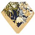 Click Here for More information or to Buy online Flower Bouquet with Camel Frame Silk Square Scarf