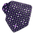 Click Here for More information or to Buy online Seeds and Flowers Printed Silk Tie