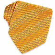 Click Here for More information or to Buy online Orange Shimmering Signature Woven Silk Tie