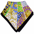 Click Here for More information or to Buy online Multi-color Ornamental Chiffon Silk Bandana