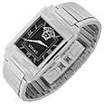 Click Here for More information or to Buy online Landmark - Men's Black Medusa Dial Watch