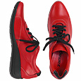 More information or Buy online Red Smooth Leather Sneaker Shoes