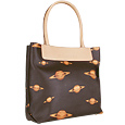 Click Here for More information or to Buy online Dark Brown Planet Tote Bag