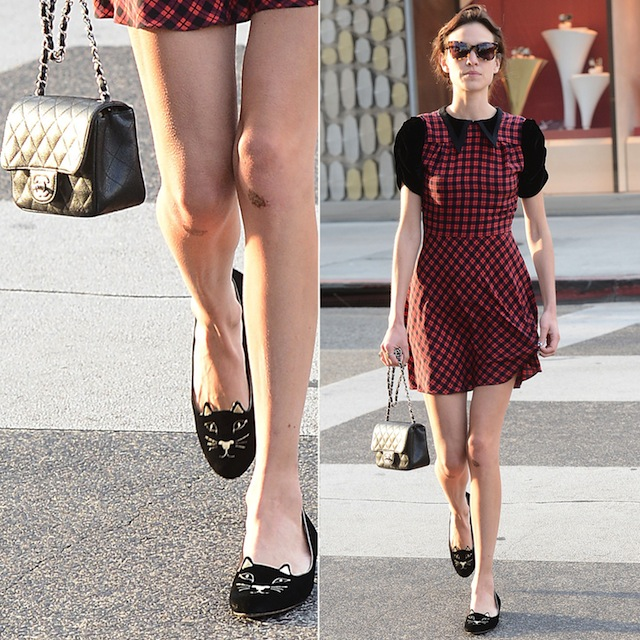 Charlotte Olympia Shoes, Kittly Flats